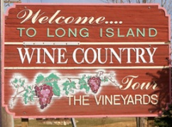 Long Island Wine Country Sign